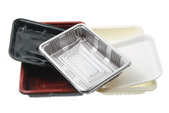 Food Trays Stock Photos
