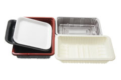 Food Trays Stock Photo