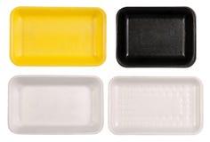 Food trays Stock Image