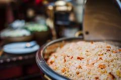 Food on Trays Stock Photo