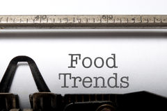 Food trends Royalty Free Stock Photography