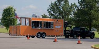 Food Truck at the Bartlett Farmer's Market Royalty Free Stock Photo
