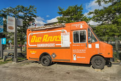 Food truck Dic Ann`s royalty free stock image