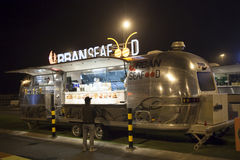 Food Truck in Dubai Royalty Free Stock Photography