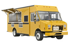 Food truck eatery Stock Image