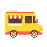Food truck illustration Stock Photography
