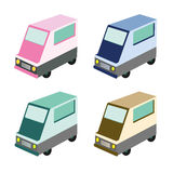Food truck illustration Royalty Free Stock Photo