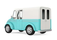 Food Truck Isolated Royalty Free Stock Photography