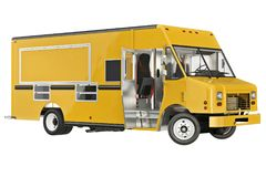 Food truck mobile eatery Royalty Free Stock Image