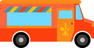 Food Truck Royalty Free Stock Photo