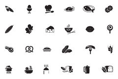 Food Vector Icons 8 Stock Photo