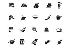 Food Vector Icons 9 Royalty Free Stock Image