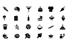 Food Vector Icons 2 Royalty Free Stock Photography