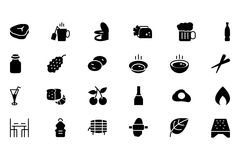 Food Vector Icons 11 Stock Photography