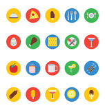Food Vector Icons 1 Royalty Free Stock Photos