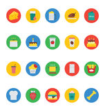 Food Vector Icons 3 Stock Image