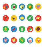 Food Vector Icons 2 Stock Photo