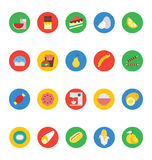 Food Vector Icons 6 Royalty Free Stock Image