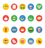 Food Vector Icons 7 Stock Photography