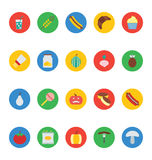Food Vector Icons 10 Royalty Free Stock Photos