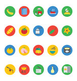 Food Vector Icons 12 royalty free illustration