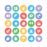 Food Vector Icons 4 Stock Photography