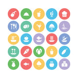 Food Vector Icons 11 Stock Images