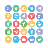 Food Vector Icons 8 Royalty Free Stock Images