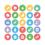 Food Vector Icons 10. These Food Vector Icons will satisfy all your design hungers, Included in this pack are all kinds of delicious goodies and good eats and Stock Photos
