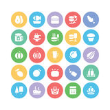Food Vector Icons 5 Royalty Free Stock Images