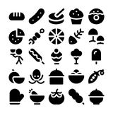 Food Vector Icons 12. These Food Vector Icons will satisfy all your design hungers, Included in this pack are all kinds of delicious goodies and good eats and royalty free stock image