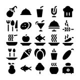 Food Vector Icons 11 Royalty Free Stock Photos