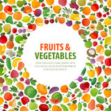 Food Vector Logo Design Template. Fruits And Stock Photography