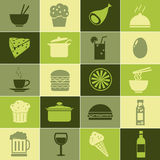 Food Vectors Set Stock Photography