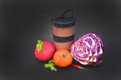 The food for vegans. And vegetarians Stock Photo
