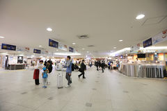 Food and vegetable shop in New Chitose Airport Stock Photos