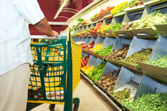 Food vegetable shopping stock photos