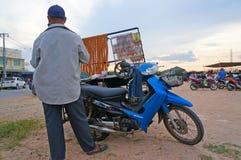 Food vendors Stock Photography