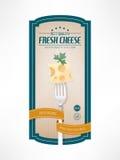 Food vintage label Stock Photo