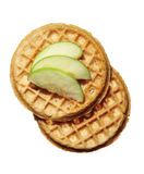 Food waffles Stock Image