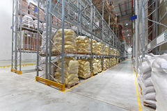 Food warehouse Royalty Free Stock Photo