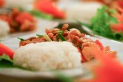 Food was prepared f Stock Photo
