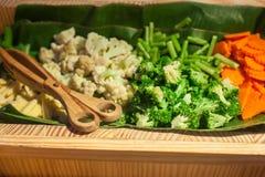 Food was prepared. Stock Photo