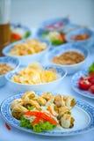Food was prepared Stock Photos