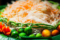 Food was prepared Royalty Free Stock Photography