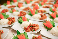 Food was prepared Royalty Free Stock Images