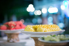 Food was prepared Royalty Free Stock Photo