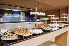 Food on wedding reception Stock Image