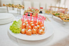 Food on wedding Royalty Free Stock Image