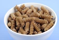 Food - Wholewheat Pasta Stock Photos